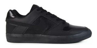 Tenis Nike Sb Delta Force Vulc Skate Preto Original Com Nf