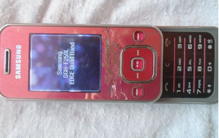 Celular Samsung F250l Dañado