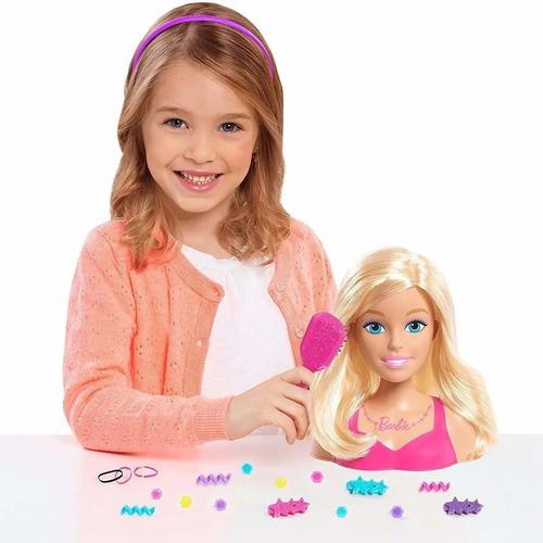 Muñeca Barbie Fashionistas Peinados Y Accesorios Glam Mattel