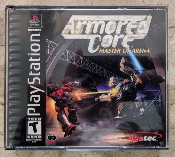 Armored Core Master Of Arena Ps1 Completo Original Dark Soul