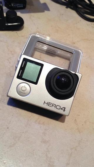 Gopro Hero 4 Con Accesorios