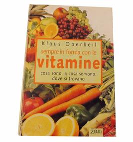 Livro Sempre In Forma Con Le Vitamine Klaus Oberbeil B3991