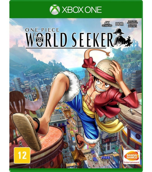 One Piece World Seeker Xbox One Mídia Física Novo Português
