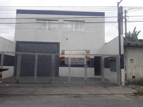 Salão Para Alugar, 300 M² Por R$ 7.000/mês - Vila Guedes - São Paulo/sp - Sl0058