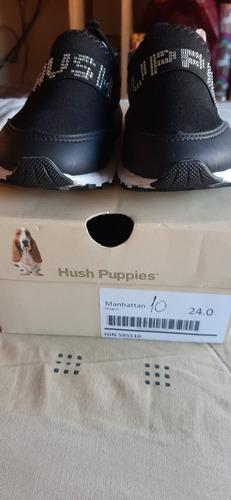 Zapatillas Negras Hush Puppies Talle 24