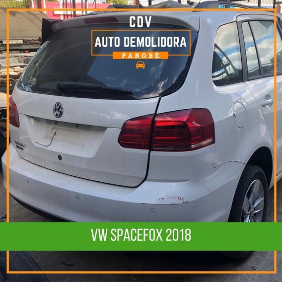 Sucata Vw Spacefox 2018 Disponível Para Venda De Peças!