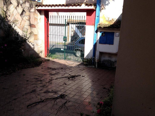 Terreno À Venda, 490 M² Por R$ 1.500.000,05 - Jardim - Santo André/sp - Te0238
