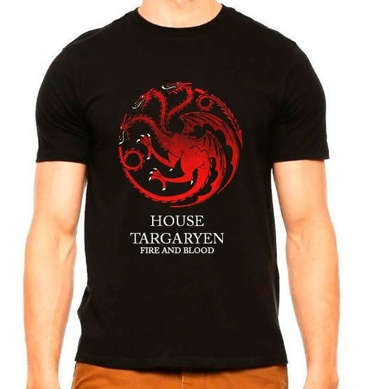 Playera House Targaryen Game Of Thrones