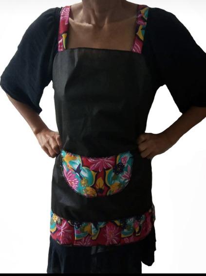 Kit 10 Aventais Bar/ Cozinha Moça Flores Sortidos