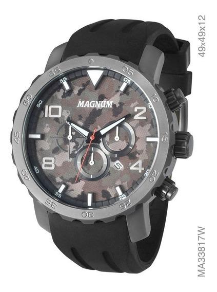 Relógio Magnum Fundo Camuflado Ma33817w