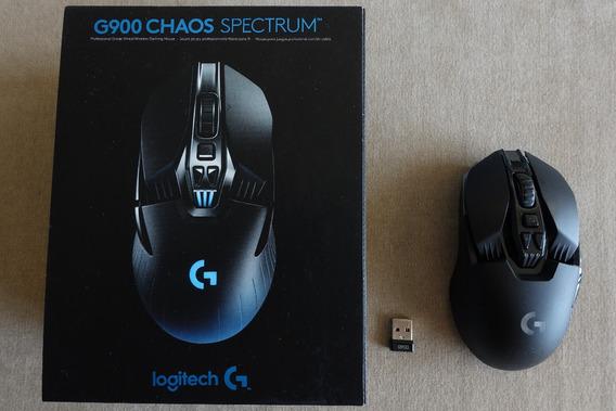 Mouse Logitech G900 Chaos Spectrum (sem Fio/wireless, Gamer)