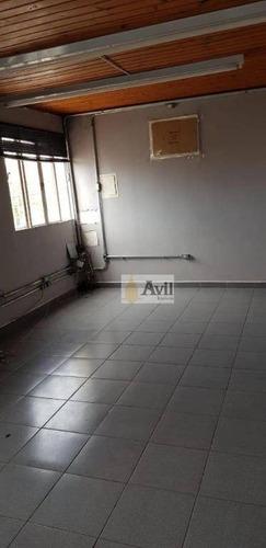 Galpão Para Alugar, 600 M² Por R$ 7.000/mês - Jardim Amália - São Paulo/sp - Ga0108
