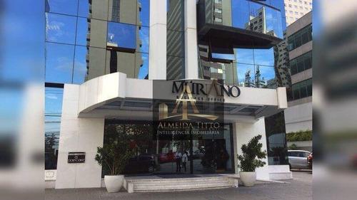 Imagem 1 de 19 de Excelente Sala Comercial Para Locação Com 70 M², Alameda Grajaú Em Alphaville/barueri-sp  Confira! - Sa0576