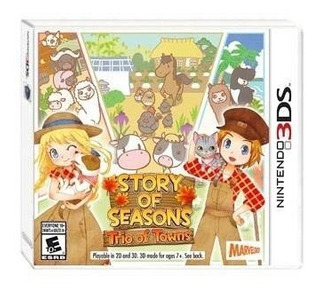 Story Of Seasons Trio Of Towns - Juego Físico 3ds - Sniper