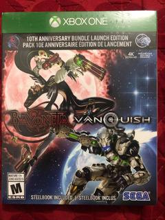 Bayonetta Vanquish Steelbook Edition Xbox One Nuevo Sellado