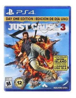 Just Cause 3 Ps4 Físico - Usado