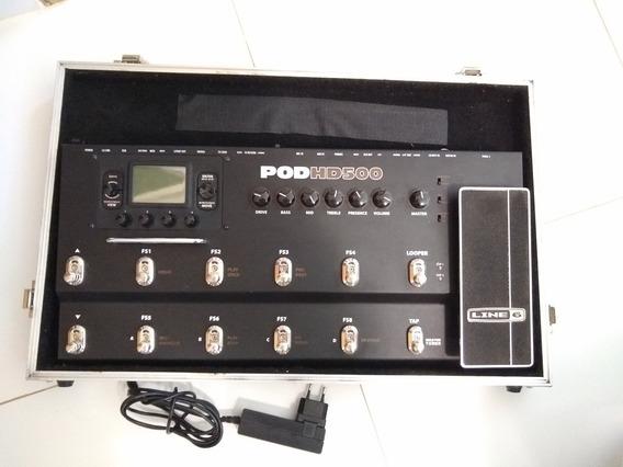 Pod Hd 500 Line 6 Com Case - Nova