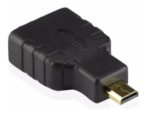 Adaptador Cable Hdmi Hembra Micro Hdmi Macho - Factura A / B