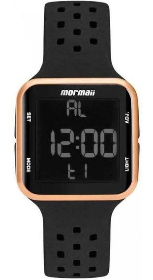 Relógio Digital Mormaii Preto Rose Mo6600/8j Original