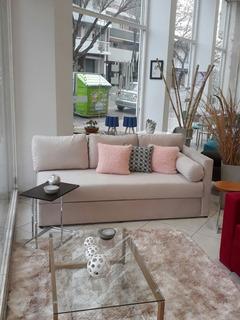 Sofá Cama 1 Plaza Con Baulera Medidas 200x090 Varios Colores