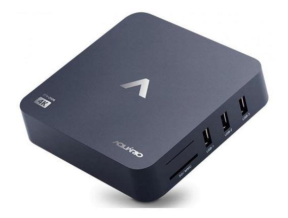Smart Tv Box Android 4k - Aquário Stv2000