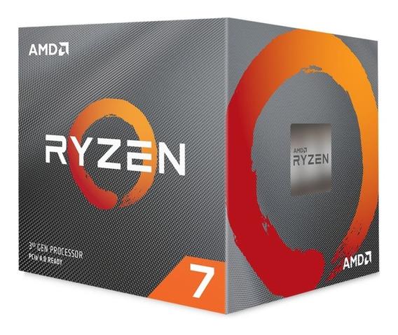 Processador Amd Ryzen 7 3700x 36mb 3.6 - 4.4ghz Am4 100-100000071box