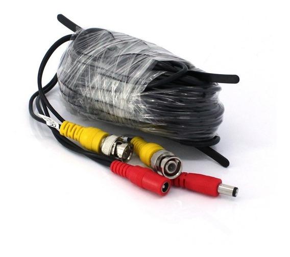 Cable Armado Completo Para Cámaras De Seguridad W-vp1018