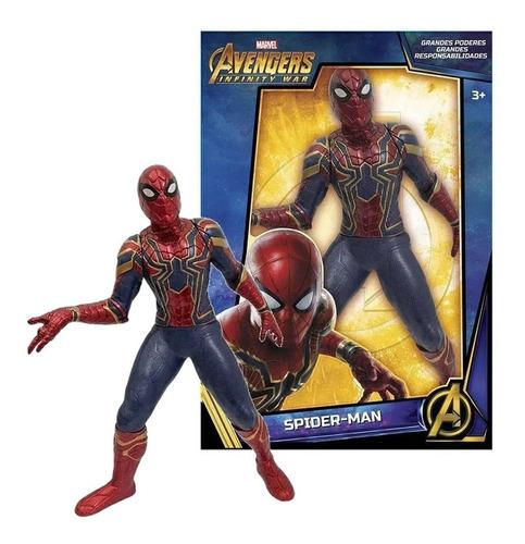 Imagem 1 de 4 de Boneco Gigante Homem Aranha Vingadores Original Mimo