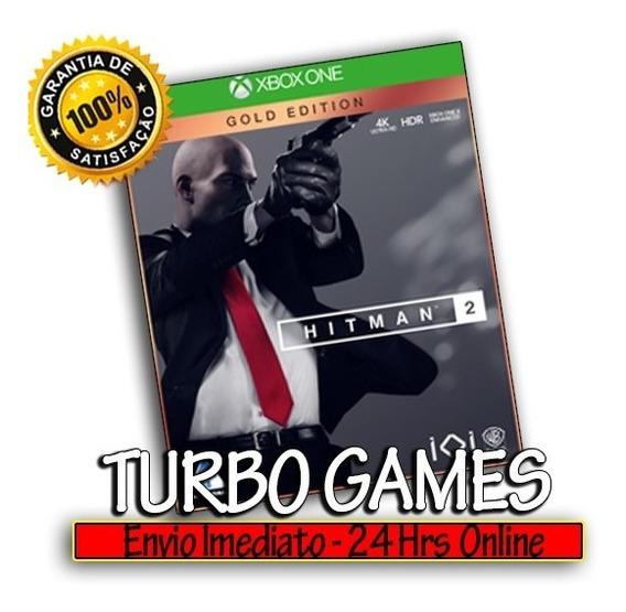 Hitman 2 Edição Ouro Xbox One Midia Digital + Brinde