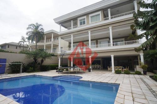 Imagem 1 de 25 de Sobrado Com 7 Dormitórios À Venda, 1250 M² Por R$ 9.500.000,00 - Tamboré 02 - Santana De Parnaíba/sp - So0237