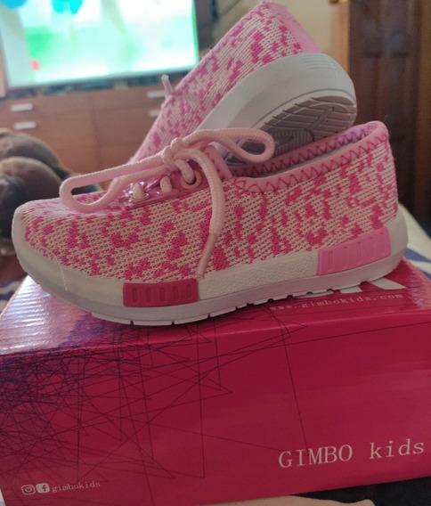 Zapatos Deportivos Para Bebé Niñas, Botas Gimbo Kids,nuevas
