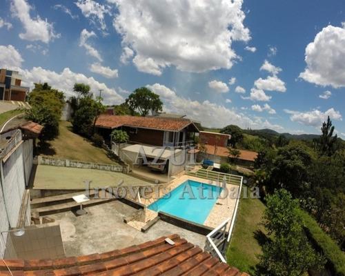 Chácara  A Venda Em Atibaia, Condomínio Portal Dos Nobres Portaria, Rondas, Area De Lazer... - Ch03424 - 32662646