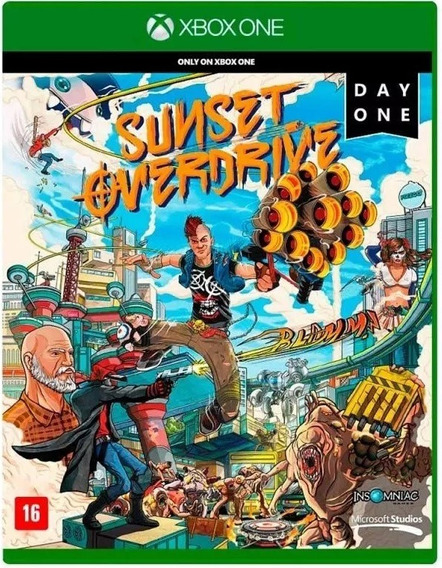 Sunset Overdrive Day One Xbox One *midia Fisica*