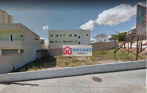 Terreno Para Alugar, 364 M² Por R$ 2.300,00/mês - Vila Industrial - São José Dos Campos/sp - Te1011
