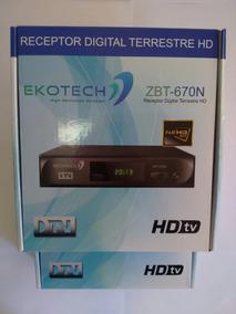 Kit 2 Unidades Conversor Tv Digital Ekotech Zbt 650n
