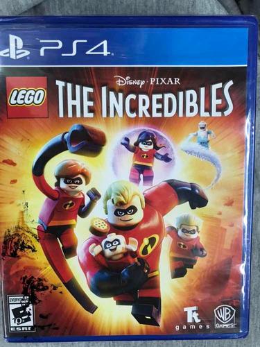 Lego Increíbles Para Ps4 Nuevo Original Fisico