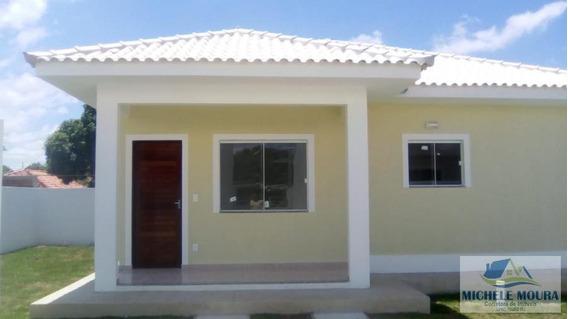 Casa 2 Dormitórios Para Venda Em Araruama, Itatiquara, 2 Dormitórios, 1 Suíte, 1 Banheiro, 3 Vagas - 154