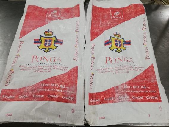 100 Costales De Rafia Harina/azúcar, Para Escombro.