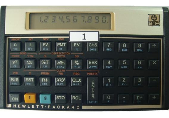 Calculadora Financeira Hp 12c Gold Português Modelo 01