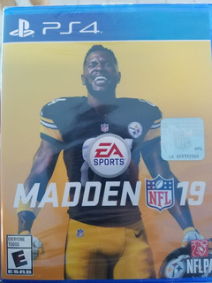 Madden Nfl 19 Ps4 Nuevo Sellado Delivery Stock Ya