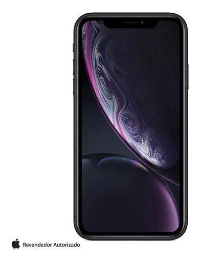 iPhone Xr Preto Tela 6,1, 128 Gb,câmera De 12 Mp - Mry92br/a