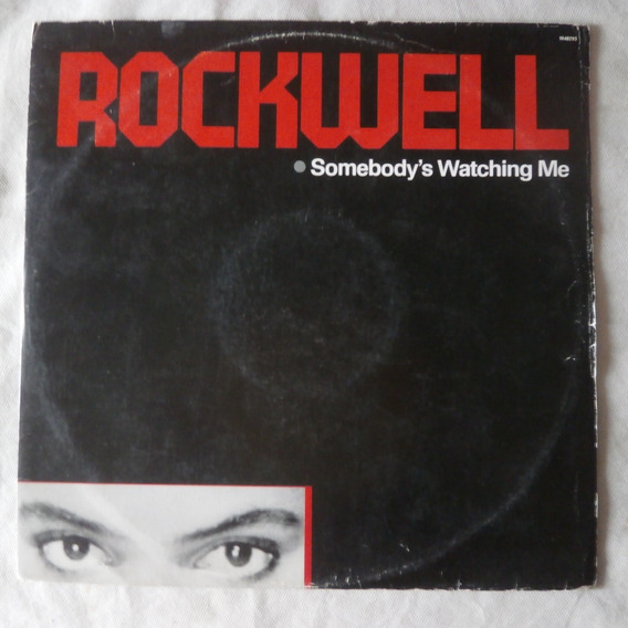 Lp Rockwell 1984 Somebody`s Watching Me, Disco De Vinil
