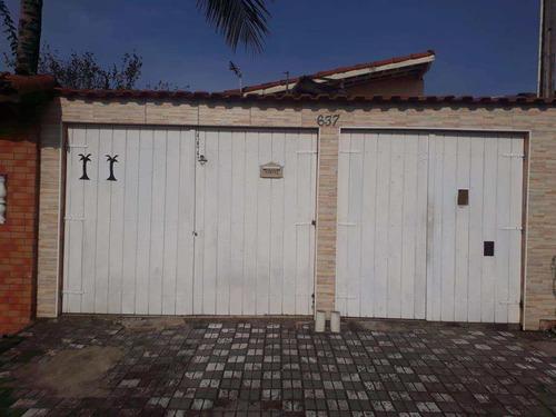 Casa Com 2 Dorms, Balneário Itaguai, Mongaguá - R$ 320 Mil, Cod: 286796 - V286796