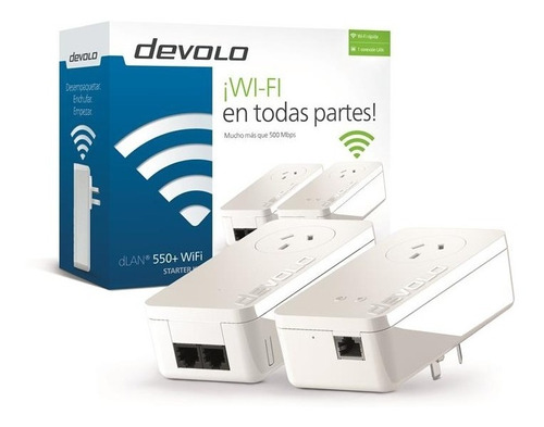 Kit Para Navegar Por Lan Y Wi-fi Usa Red Eléctrica Devolo