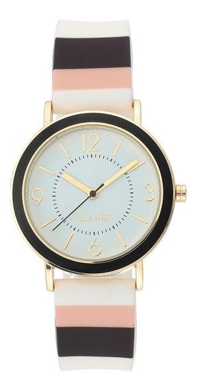 Reloj Para Dama Nine West Nw2296bkmt Envio Gratis