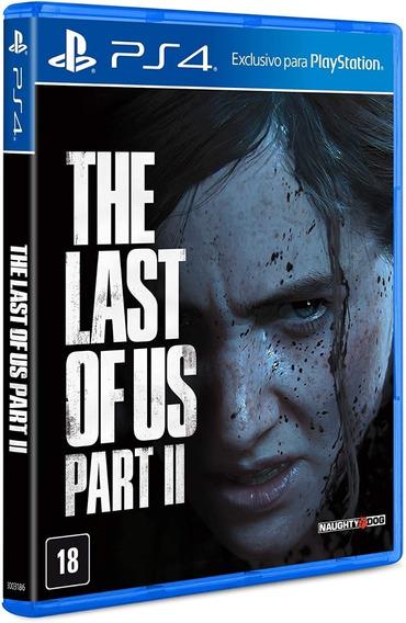 The Last Of Us Part Ll 2 Ps4 Mídia Física Envio Rapido