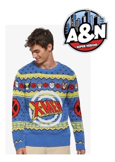 Sweater X-men Retro Hombre Talla Mediana
