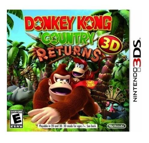 Jogo Donkey Kong Country Returns 3d - Nintendo 3ds