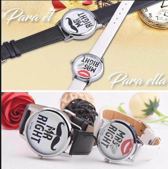 Reloj En Pareja Oferta Amor Y Amistad