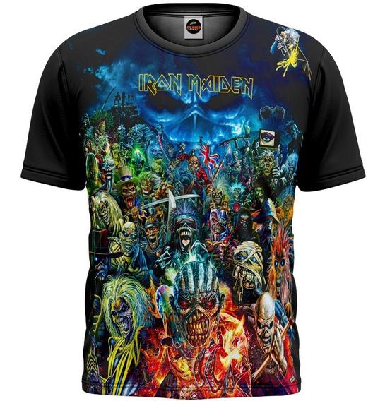 Camiseta Iron Maiden Porto Alegre Legacy Of The Beast M 666